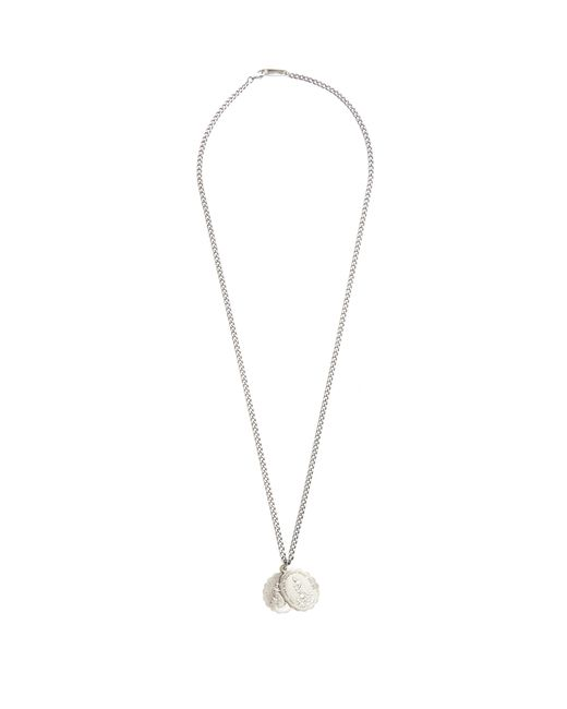 Miansai - Gray Collier en argent sterling Saints for Men - Lyst