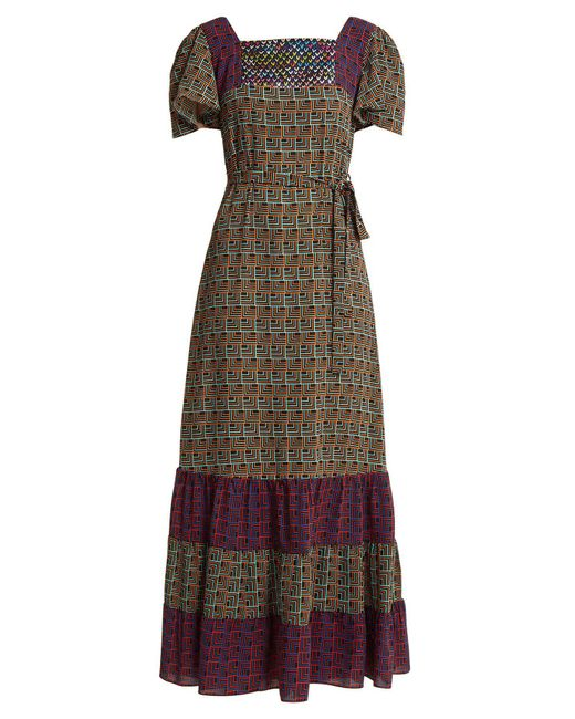 Duro Olowu - Multicolor Geometric Print Dress - Lyst
