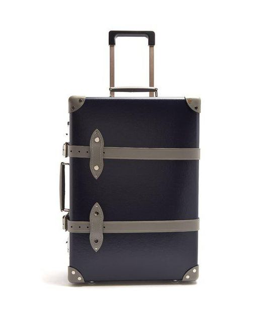 "Globe-Trotter - Multicolor - X Matchesfashion.com Centenary 20"" Cabin Suitcase - Mens - Navy Multi for Men - Lyst"