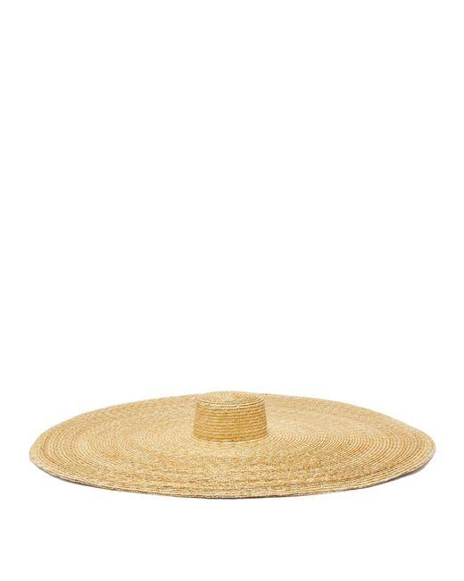 Eliurpi Le Grand Oversized Natural Straw Hat
