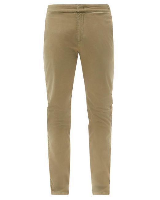 メンズ Orlebar Brown キャンベル コットン スリムチノパンツ Multicolor