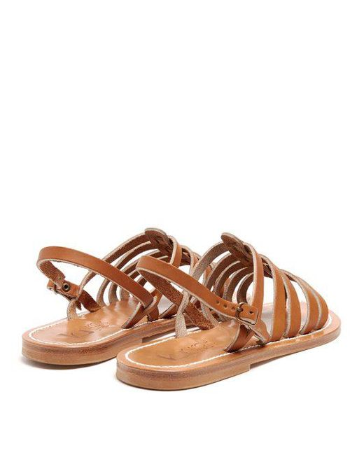 Brown Homere sandals K.Jacques Sale Comfortable Cheap Sale Clearance Free Shipping Footlocker 5k5sjFnp