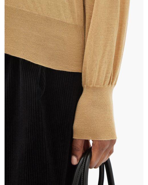 The Row アンドレット カシミアタートルネックセーター Multicolor