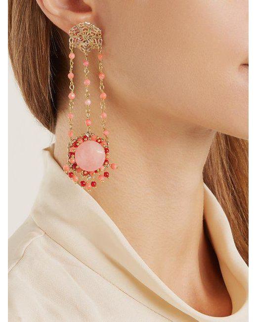 Corte drop earrings Rosantica v6ujQNC