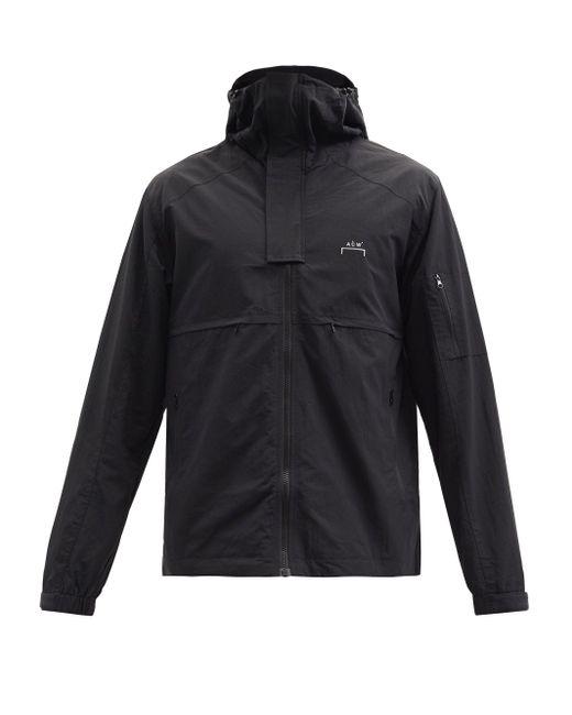 メンズ A_COLD_WALL* * テクニカル フーデッドジャケット Black