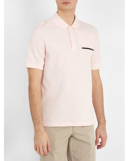 Contrast-trim cotton-blend polo shirt Berluti Buy Cheap Perfect Sale Many Kinds Of Free Shipping Clearance Buy Cheap Inexpensive Comfortable Cheap Price Ebx04cM4JC