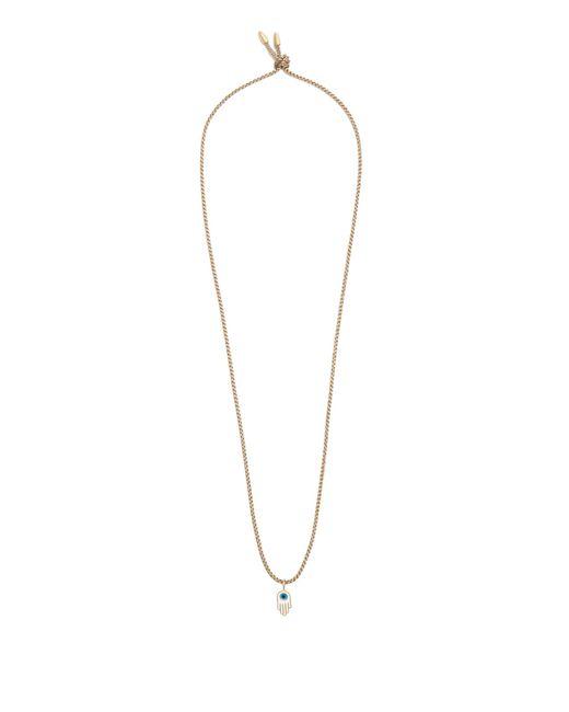 Luis Morais | Brown Hamsa Pendant-necklace for Men | Lyst