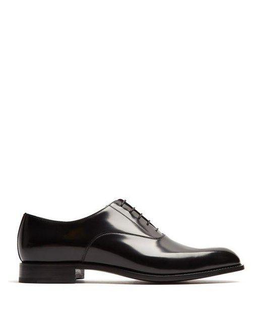 High-shine leather oxford shoes Prada ZbvsPbWNb