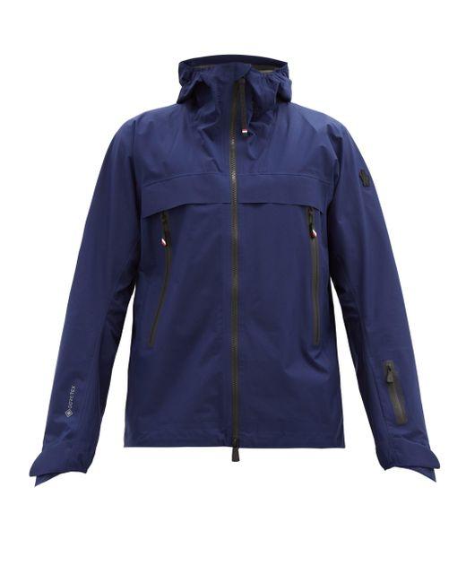 メンズ 3 MONCLER GRENOBLE ヴィッライル フーデッドスキージャケット Blue