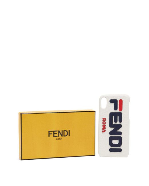 32da742cfded ... Fendi - Multicolor Mania Logo Iphone® X Case - Lyst ...