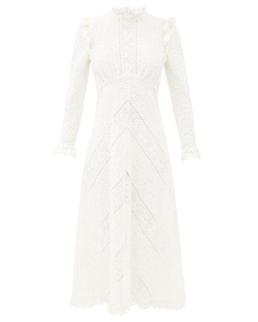 Zimmermann ブライトン フローラルレースドレス Multicolor