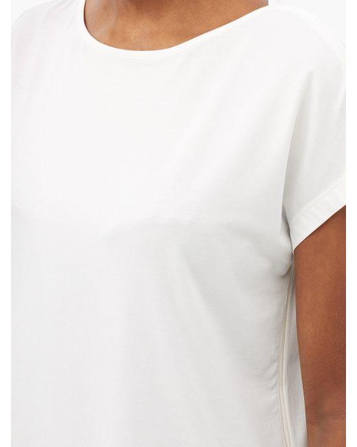 Ernest Leoty リュディヴィーヌ ボートネック Tシャツ White