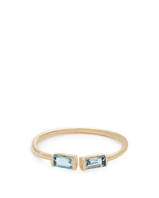 Loren Stewart | Blue Topaz & Yellow-gold Ring | Lyst