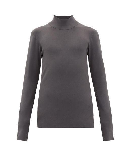 メンズ Bottega Veneta ハイネック セーター Gray
