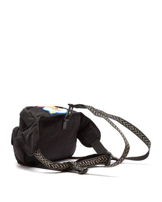 ... Gucci - Black Sac ceinture à appliqués en chenille Loved for Men - Lyst  ... e34197990e8