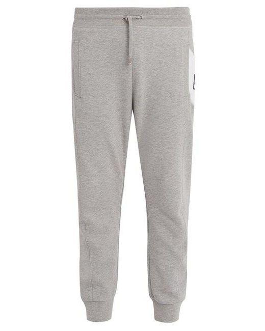 Moncler - Gray Basic Slim-leg Cotton Track Pants for Men - Lyst