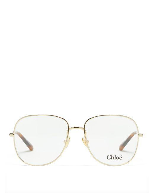 Chloé Chloé ラウンドメガネ Multicolor
