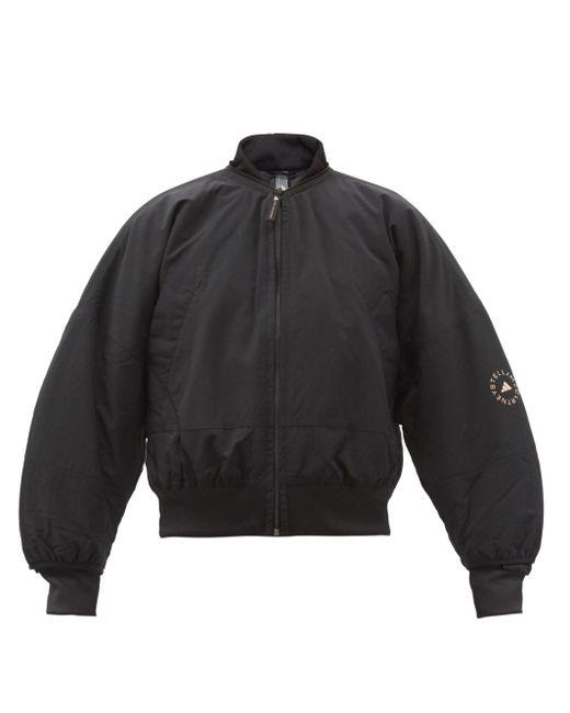 Adidas By Stella McCartney リサイクルナイロン ボンバージャケット Black