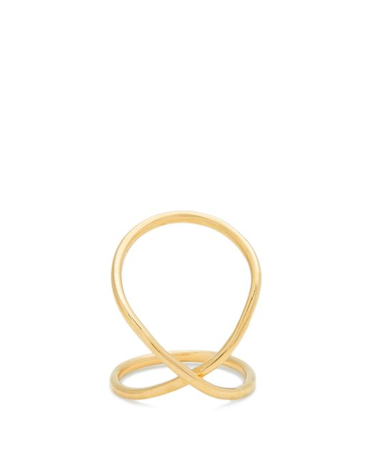 Fay Andrada | Metallic Rysty Lo Yellow-gold Ring | Lyst