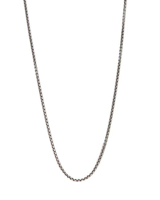 Tom Wood - Multicolor Collier chaîne vénitienne en argent sterling for Men - Lyst