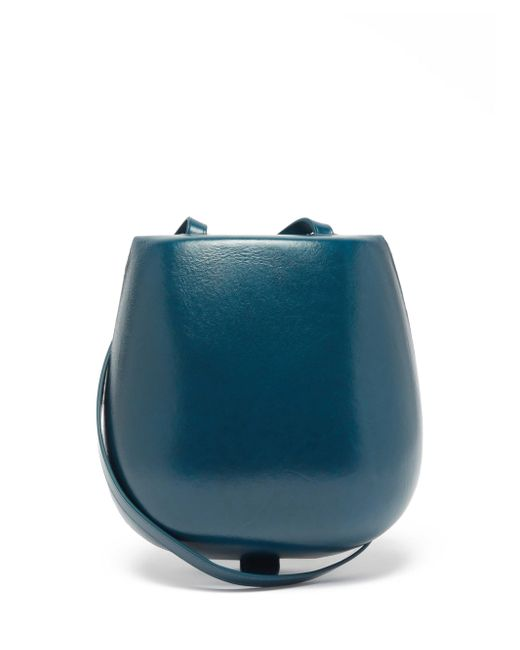 Lemaire タッコ レザークロスボディバッグ Blue