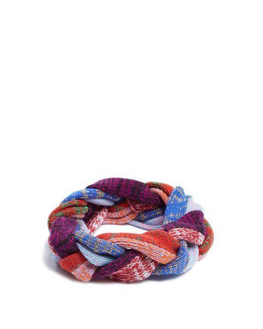 Braided-knit wool-blend headband Gucci jjH3xiBs