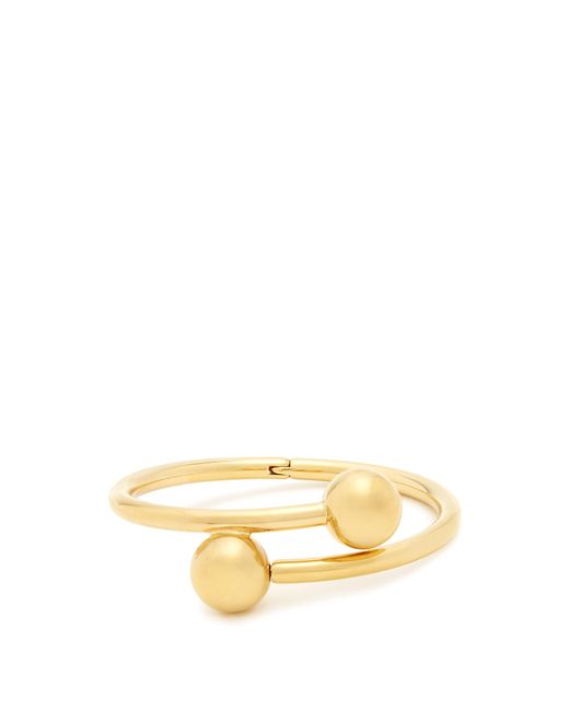 J.W. Anderson | Metallic Double-sphere Gold-plated Bangle | Lyst