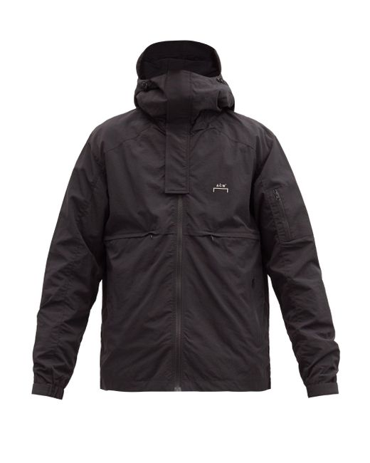 メンズ A_COLD_WALL* * ストーム フーデッドジャケット Black