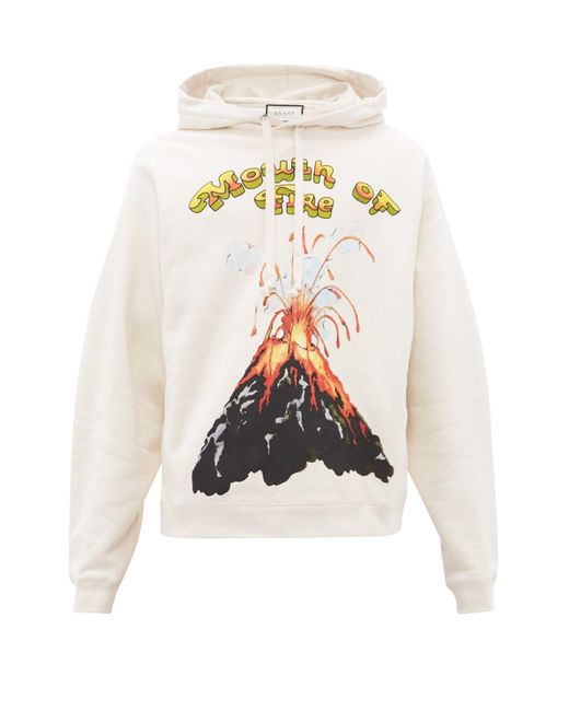 Off White Hoodie Loose Pullover volcanic strait print fashion Sweatshirt new
