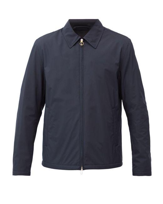 メンズ Dunhill テクニカル ハリントンジャケット Blue