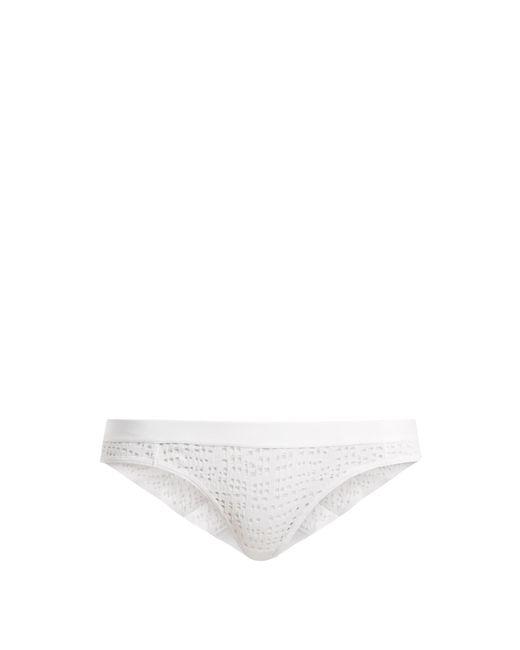 Negative Underwear - White Essaouira Mesh Briefs - Lyst