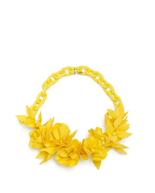 Isabel Marant - Yellow Honolulu Flower Necklace - Lyst