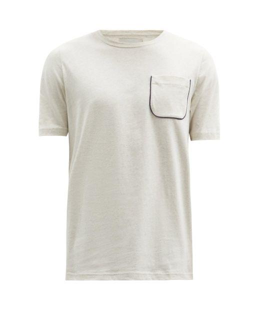 メンズ Oliver Spencer オリ オーガニックコットン Tシャツ Multicolor