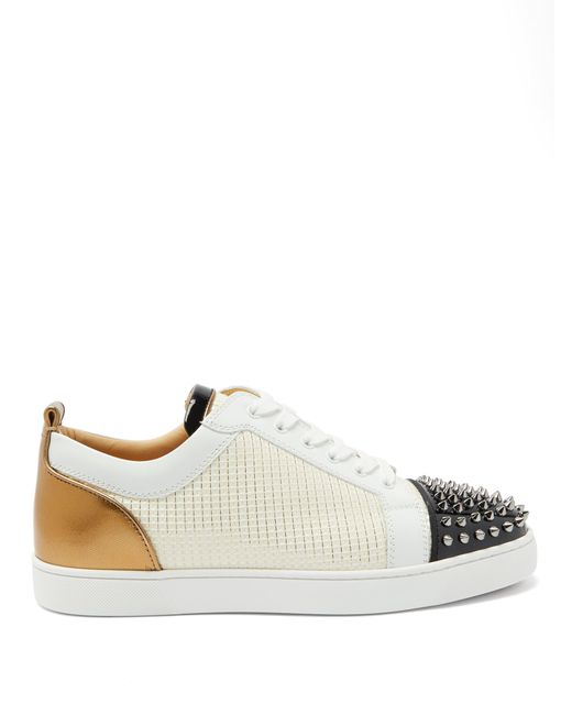 Baskets à picots Louis Junior Christian Louboutin pour homme en coloris Multicolor