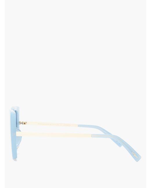 Le Specs ディスコマニア オーバーサイズ サングラス Multicolor