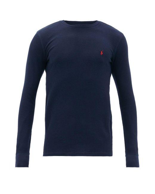メンズ Polo Ralph Lauren ロングスリーブtシャツ Blue