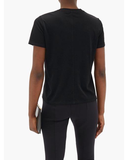 The Row ウェスラー コットンtシャツ Black