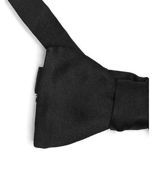 Cravate En Satin Classique - Prada Noir BTBts