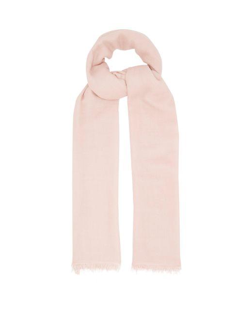Raey スーパーファイン カシミアスカーフ Pink