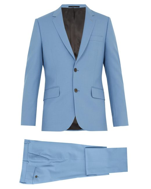 Paul Smith | Blue Soho-fit Wool Suit for Men | Lyst