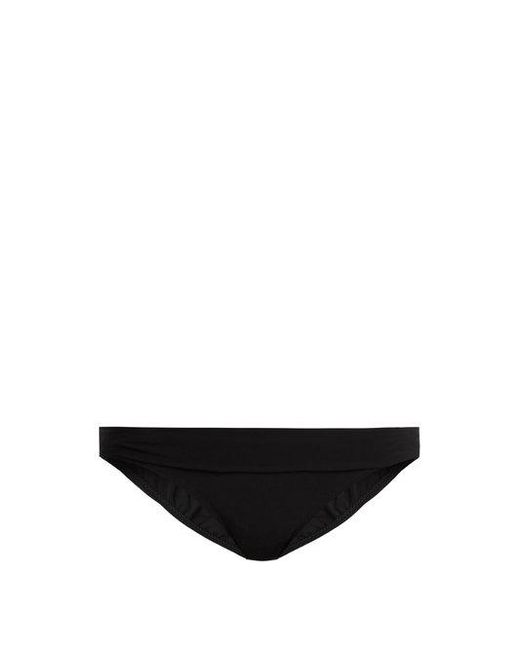 Heidi Klein - Black Oslo Fold-over Bikini Briefs - Lyst