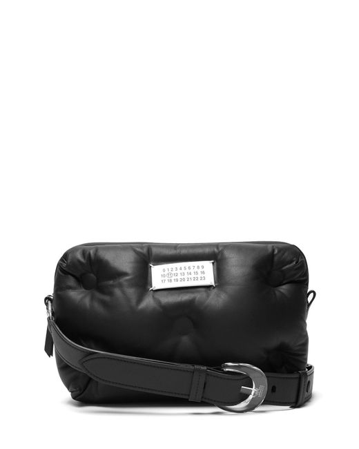 Leather Black Quilted Body Bag Women's Slam Glam Cross erWCxBoQdE