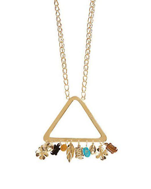Aurelie Bidermann - Metallic Aurélie Gold-plated Necklace - Lyst