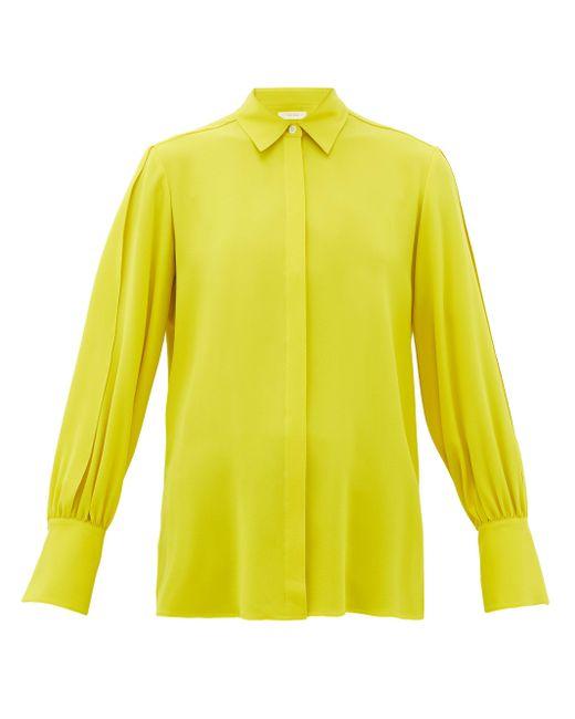 The Row オニ シルククレープシャツ Yellow