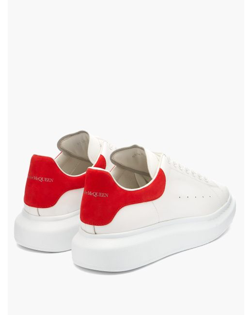 Alexander McQueen Multicolor Raised-sole Low-top Leather Trainers for men