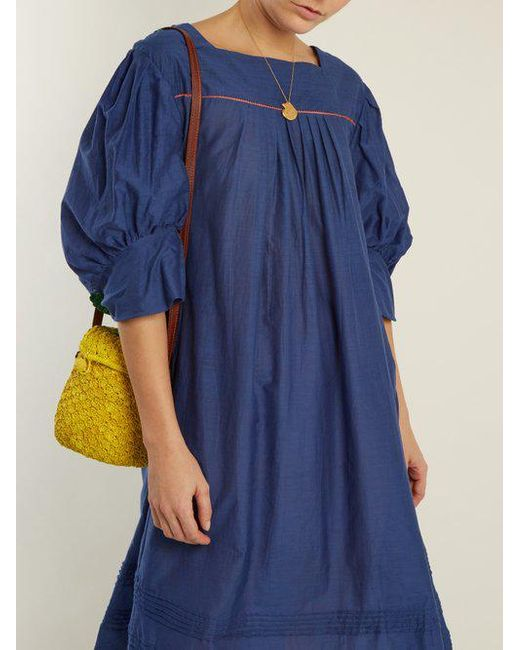 Jours De Venise puff-sleeve dress Thierry Colson S5yE3zWtLE