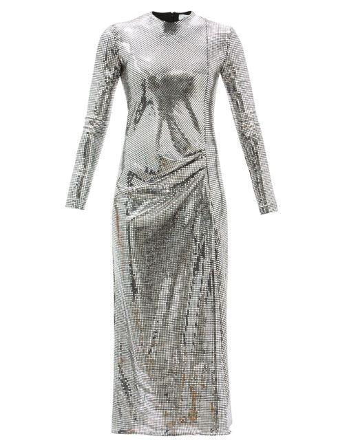 Racil カミーユ ミラーメタリックジャージードレス Multicolor