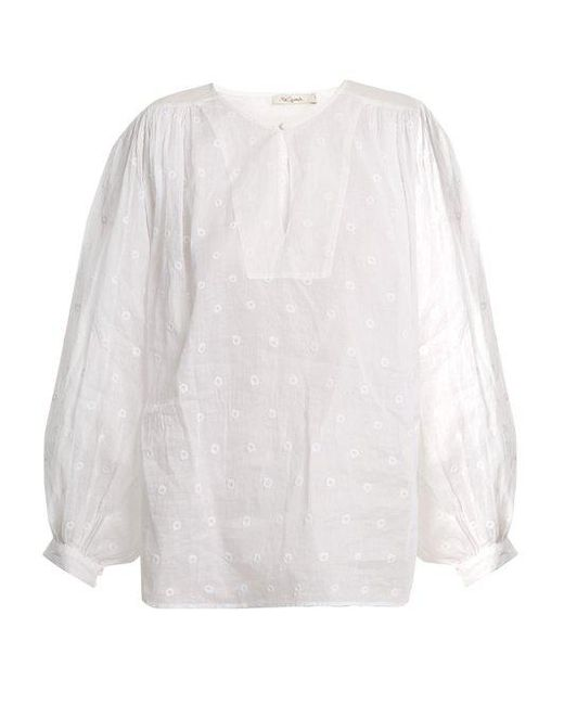 Organdy Glor embroidered top Mes Demoiselles... Shop Offer Cheap Price Outlet Get Authentic mYADU7