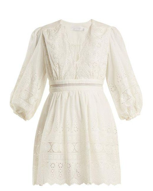 Buy Cheap 2018 New Kali embroidered cotton top Zimmermann Outlet Footlocker Pictures Official Cheap Online Lowest Price fSa7fLj