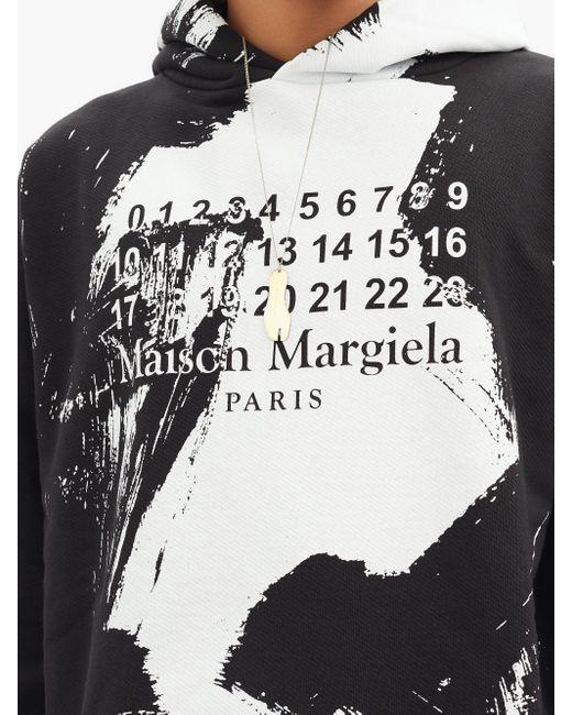 メンズ Maison Margiela タビ ゴールドプレーテッド シルバーネックレス Multicolor